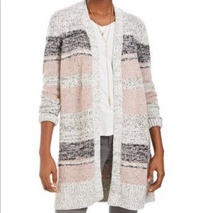 NWT Style & Co women's Striped Cardigan size M,L
